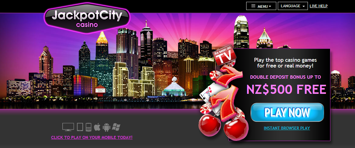 jackpot city online casino nz