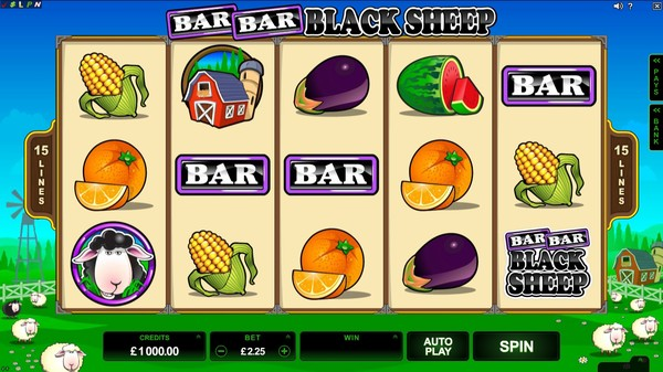 Play Bar Bar Black Sheep Pokie Free