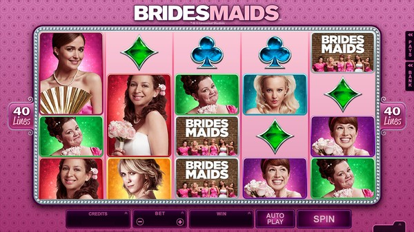 Play Bridesmaids Pokie Free