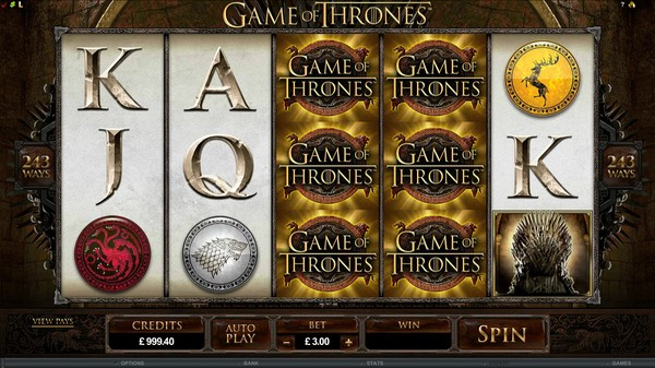 Play Game of Thrones Pokie Free